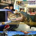 pulseiras de carro de brinquedo com dinossauros animatronic dinossauro vivo