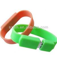Free sample eco-friendly silicon bracelet usb pendrive,wristband usb flash memory