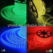 China led light 50m/Roll 100 meter flexible wire 5050 220V 60 led/m strip