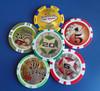 Laser Print Casino Chip /Custom Mancau Poker Chip