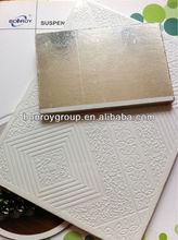 Decorative water -resistant pvc gypsum ceiling