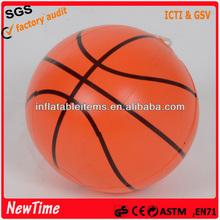 12 inch plastic ball inflatable basketball