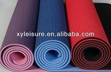 Anti-slip PVC Yoga Mat / TPE Yoga Mat