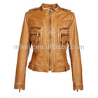 Fashion Style 2014 2015 Newest Styles Women's Sexy PU Leather Jacket