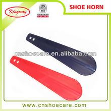 2015 hot sell cheap custom hotel plastic shoe horn
