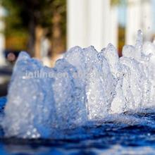 Water jet in shape of bubble