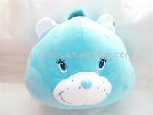 Lovely soft teddy bear pillow/plush baby cushion