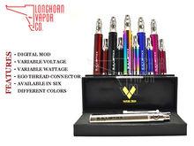 High quality ego digital e cig ego ballistixx vv-vw 2100 mAh kit electronic cigarette