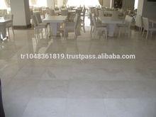 White Pearl Luxury Beige White Marble Tile