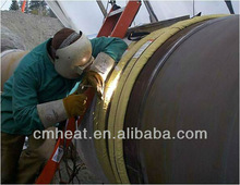 portable Induction heating machinefor pressure tanks bending,preheat,coating,PWHT,stress relieving.