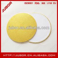 gold foil wood masonite cake bases supplier