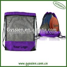 Cute wholesale cheap nylon mesh drawstring bags for kids