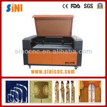 Sin-l1410d fácil funciona cnc co2 de corte por láser de mesa