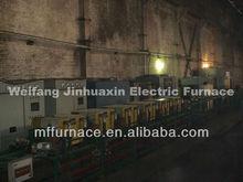 Barra de acero y alambre de acero templado de producción