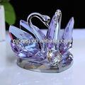 Preço mais baixo! Promoção!! 2014 purple crystal cisne para presente de casamento, presente corporativo, souvenir