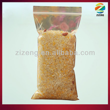 plastic bags for rice packaging clear plastic packaging bags with zipper