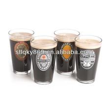 lyT542 Promotional Guinness Pint Glass 16oz Branded Guinness Beer Glass Tumbler Beer Glasses Brand Name Glassware
