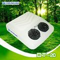 alimentado por bateria marcação ce mini rooftop ar condicionado do carro para a cabine do caminhão