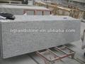 Blanco rockwell granito prefab mostrador, blanco granito encimeras de cocina