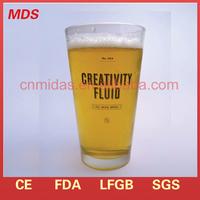 Handmade novelty funny beer glass