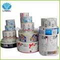 personalizado adesivo bopp rótulos para sacosdeplástico