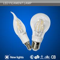 Beautiful design 360 degree COB Filament LED Bulb 1W 2W 3W 4W 5W 6W