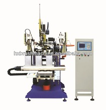 High Speed CNC Drilling and Tufting Steel Wire/Nail Brush Making Machine/ Nail Brush Machine