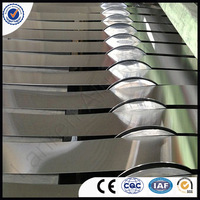 1060 3003 3105 aluminum strips coil and color coated aluminum strip use for decoration width 20-600mm