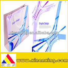 graphic design paper bag for packaging