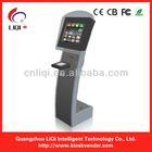 Intelligent queue management kiosk system for shopping mall or restaurant