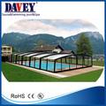 la moda de natación de la piscina cubierta telescópica del techo de la piscina