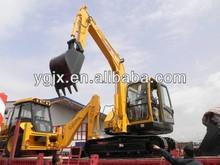 Small size crawler excavator, 7tons operating weight, 0.25 bucket, Cummins engine, Korean parts.