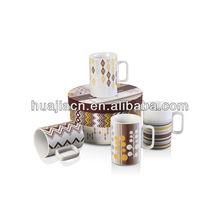 HJBD052-255 Handmade Ceramic Mug With flowet Wholesale