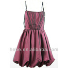 New fashion slip dress in wine red