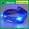 Super blue led lighting Leopard Leash flashing pet leash strap Leopard led dog leash