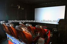 hot sale 5d cinema 5d theatre hydraulic, truck mobile 3d 4d 5d 6d 7d cinema 7d