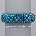Elegante laço de pérolas jóia multi- camada pulseira crochet colar e pulseira