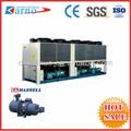 ( c) etileno glicol industrial de parafuso de ar de refrigeração refrigerador de água da planta para a refrigeração de cogumelos