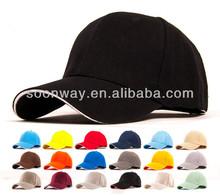 high class wholesale cheap bulk sandwich black and orange baseball cap