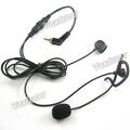 Microfone Boom Headset gancho do ouvido para Motorola NEXTEL Falcon i730 i305 i315 i325 rádio em dois sentidos
