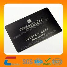 Hot sale! american express black card black metal business cards