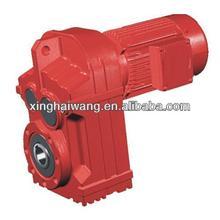 F/FA/FF/FAF/FS series parallel shaft helical gear units