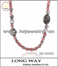 wholesale natural south sea pearl pink necklace