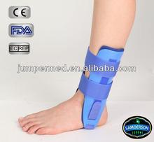 plastic moled gel sibote ankle brace stirrup