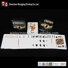 Impressão personalizada metal card poker personalizar, Impressão cartões de memória flash