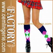 Ladies Sexy Seductive School Girl Under Knee high Stockings