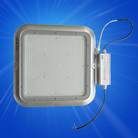 Meanwell driver high lumen 120w led canopy light replacing 400w metal halide