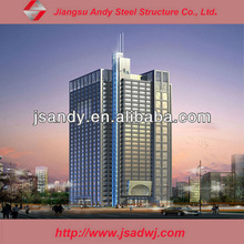 Stainless Steel Frame Curtain Wall