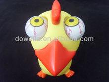 POP out bird vinyl toy/PVC cartoon figure toys/OEM animal vinyl toys
