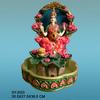 Polyresin Laxmi hindu god fountains with LED light & rolling ball